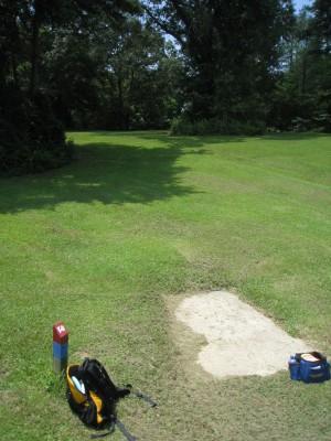 Cedarock Park, Cedarock, Hole 14 Long tee pad