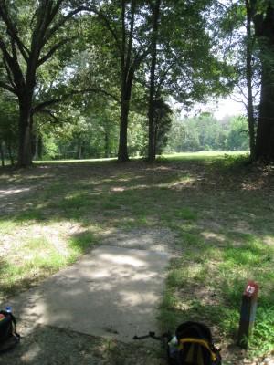 Cedarock Park, Cedarock, Hole 13 Long tee pad