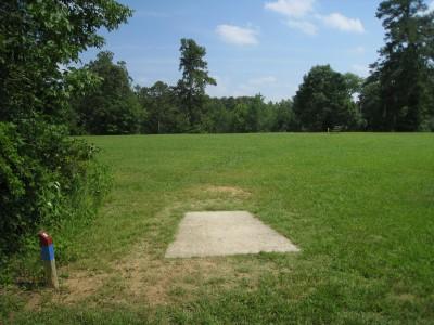Cedarock Park, Cedarock, Hole 9 Long tee pad