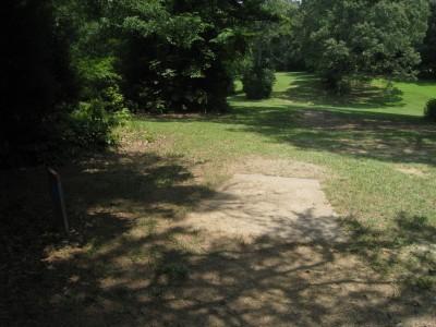 Cedarock Park, Cedarock, Hole 15 Long tee pad