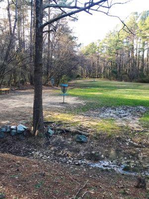 University of North Carolina, Main course, Hole 6 Short approach