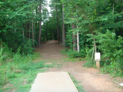 Hornets Nest Park, Main course, Hole 9 Tee pad