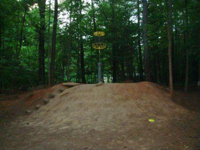 Hornets Nest Park, Main course, Hole 9 Putt
