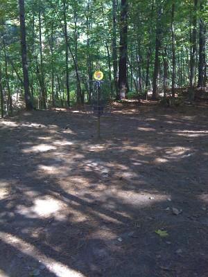 Reedy Creek Park, Main course, Hole 8 Hole sign