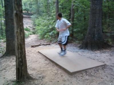 Reedy Creek Park, Main course, Hole 5 Middle tee pad