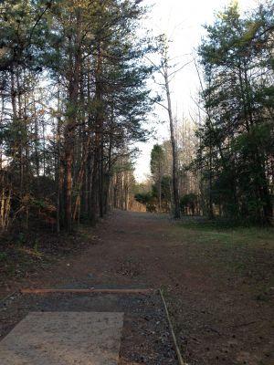 Renaissance Park, Main course, Hole 4 Tee pad