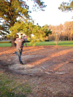 East Carolina University, Main course, Hole 12 Tee pad