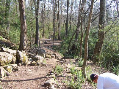 Civitan Park, John LeMaster Course, Hole 2 Midrange approach