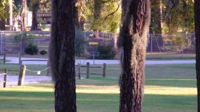 Glenburnie Park, Main course, Hole 17 Long approach