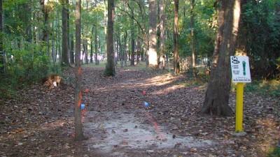Glenburnie Park, Main course, Hole 14 Long tee pad