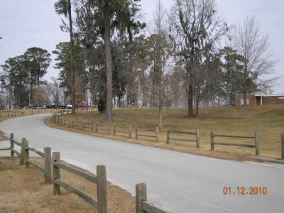 Glenburnie Park, Main course, Hole 18 Long tee pad