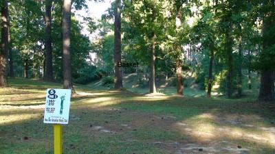 Glenburnie Park, Main course, Hole 5 Long tee pad
