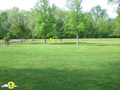 Kelsey Scott Park, Main course, Hole 1 Short tee pad