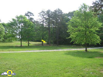 Kelsey Scott Park, Main course, Hole 8 Short tee pad