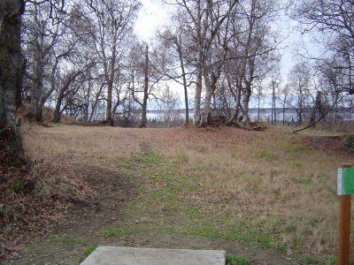 Kincaid Park, Main course, Hole 14 Tee pad