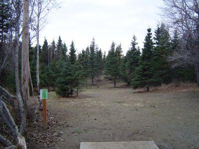 Kincaid Park, Main course, Hole 12 Tee pad
