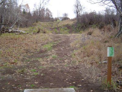 Kincaid Park, Main course, Hole 18 Tee pad