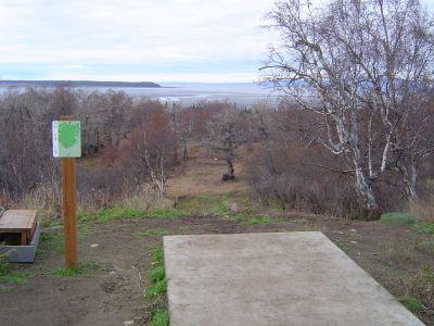 Kincaid Park, Main course, Hole 3 Tee pad