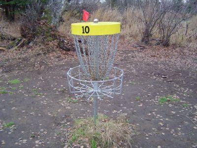Kincaid Park, Main course, Hole 10 Putt