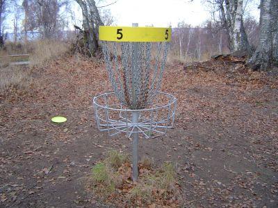 Kincaid Park, Main course, Hole 5 Putt