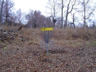 Kincaid Park, Main course, Hole 7 Putt