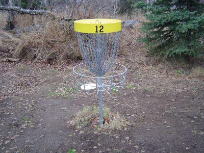 Kincaid Park, Main course, Hole 12 Putt