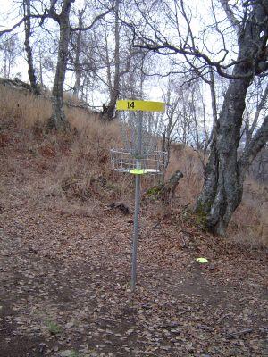 Kincaid Park, Main course, Hole 14 Putt
