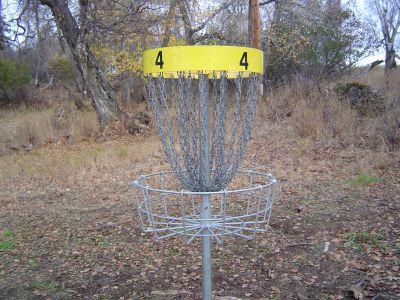 Kincaid Park, Main course, Hole 4 Putt