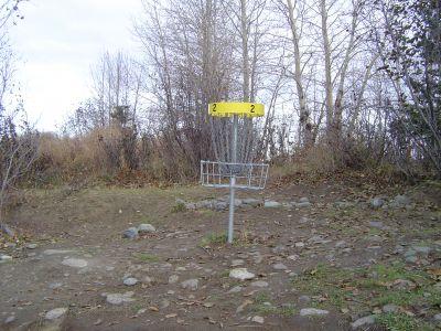 Kincaid Park, Main course, Hole 2 Putt