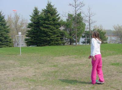 Bancroft Bay Park, 1st Course, Hole 1 Putt