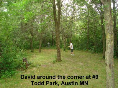 Todd Park, Main course, Hole 9 Short approach