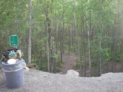 Peters Creek, Main course, Hole 8 Tee pad