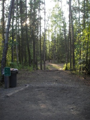Peters Creek, Main course, Hole 18 Tee pad