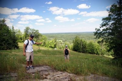 Giants Ridge, Main course, Hole 14 Midrange approach