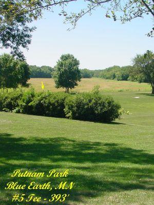 Putnam Park, Main course, Hole 5 Tee pad