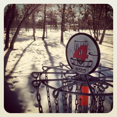 Lum Park, Main course, Hole 4 Hole sign