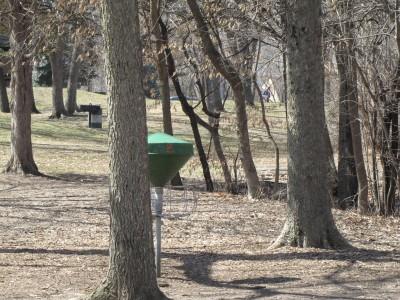 Moir Park, Main course, Hole 9 Short approach