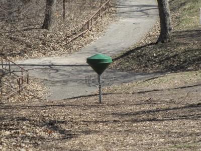 Moir Park, Main course, Hole 8 Reverse (back up the fairway)