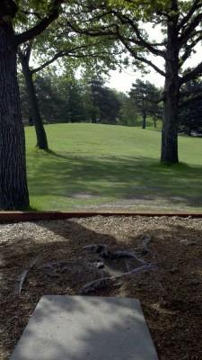 Rosland Park, Main course, Hole 5 Long tee pad