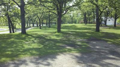 Rosland Park, Main course, Hole 7 Long tee pad