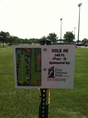 Westview, Main course, Hole 6 Hole sign
