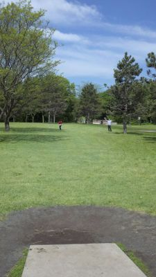 Highland Park, Main course, Hole 7 Tee pad