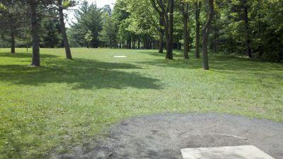 Highland Park, Main course, Hole 5 Long tee pad