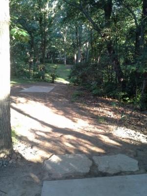 Hansen Park, Main course, Hole 8 Long tee pad