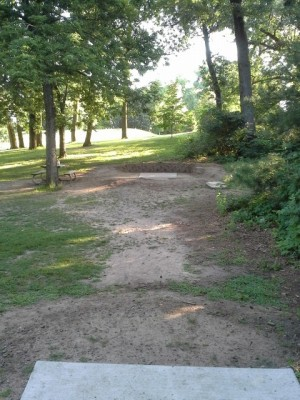 Hansen Park, Main course, Hole 10 Long tee pad