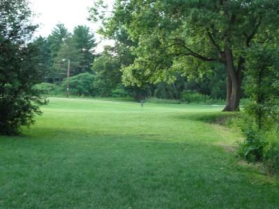 Plamann, Apple Creek, Hole 14 Tee pad