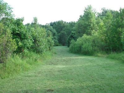 Plamann, Apple Creek, Hole 4 Hole sign