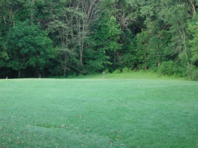 Plamann, Apple Creek, Hole 13 Tee pad