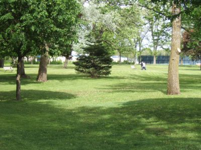 Dr. George W. Hilliard Park, Main course, Hole 3 Tee pad