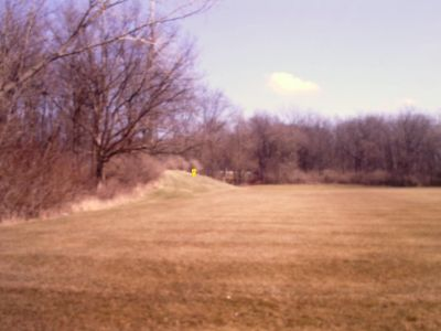 Duck Pond, Main course, Hole 3 Tee pad